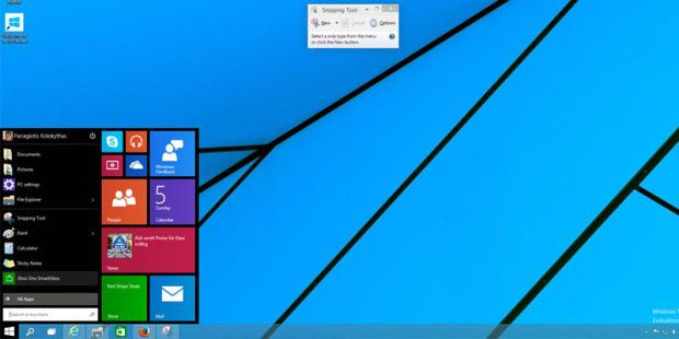 Windows 10 TP Build 9860