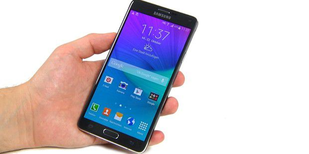 Test-Video: Highend-Smartphone Galaxy Note 4