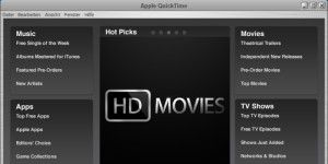 Apple Media-Player: QuickTime