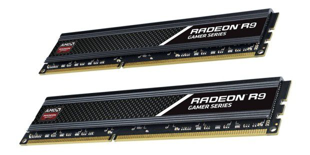 AMD Radeon R9 Gamer Series DIMM Kit 16GB DDR3-2400
