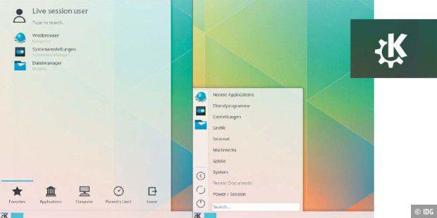 KDE Plasma 5: Die neue Optik im Check - PC-WELT
