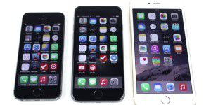 iPhone 5s vs. 6 vs. 6 Plus - Vergleich