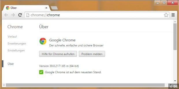 64-Bit-Version von Google Chrome