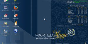 Parted Magic 2014.11.19 mit Boot-Reparatur