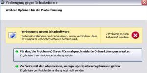 Microsoft Malware Prevention Troubleshooter