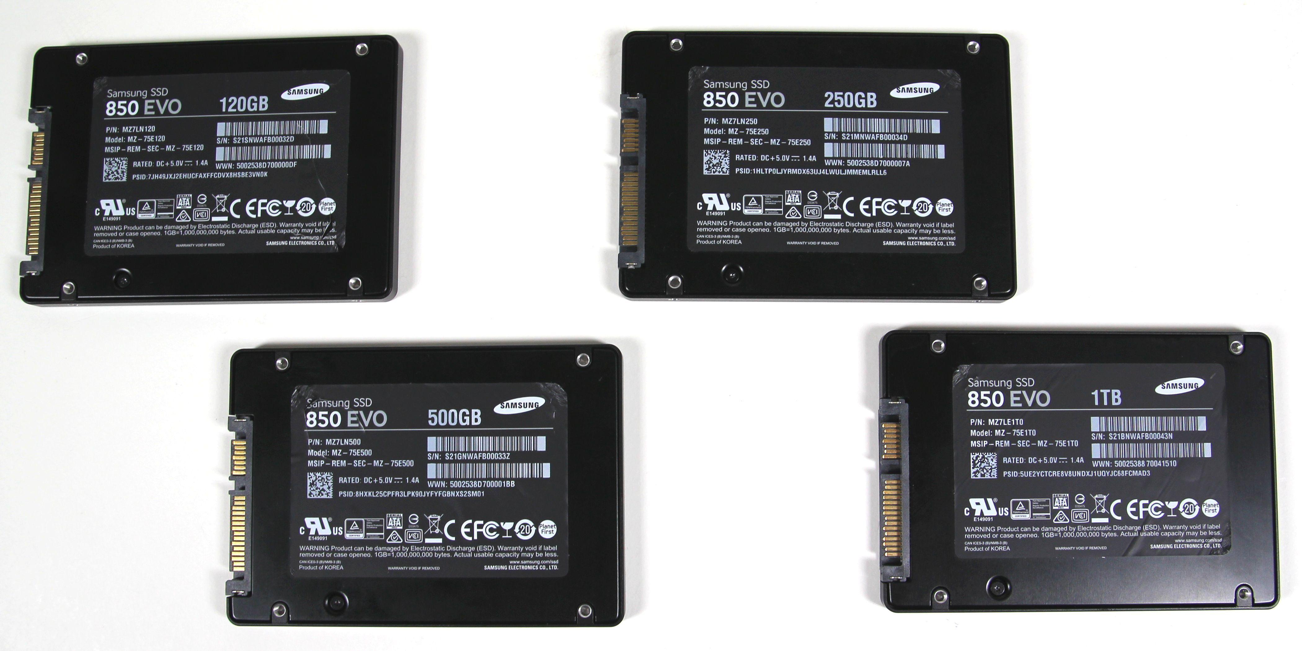 Samsung Ssd 850 Evo Im Test Pc Welt M2 250gb Vergrern Serie