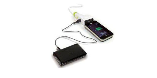 Das IDAPT i1 Eco kann zwei Mobilgerät gleichzeitigaufladen.