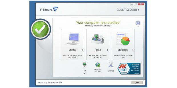 F-Secure Client Security ohne Fehlalarme