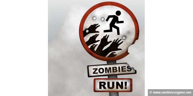 Von der Website der iPhone-App Zombies, Run!