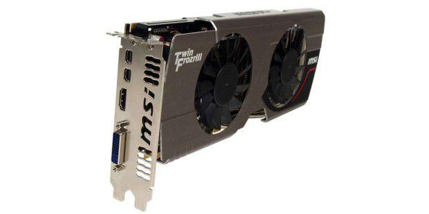 Es wird kalt: MSI rückt mit einer Radeon HD 7950 im Custom-Design an.