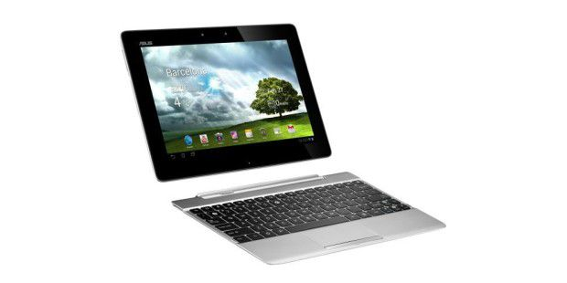 Tablet mit Docking-Tastatur im Test: Asus Transformer TF300TG