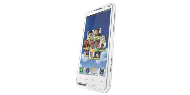 Flach und schick: Motorola Motoluxe