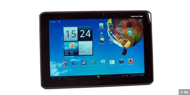Tablet mit Android 4.0 und Quad-Core im Test: Acer Iconia A510