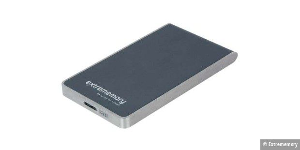 Extrememory Portable HDD USB 3.0 designed by Brinell im Test