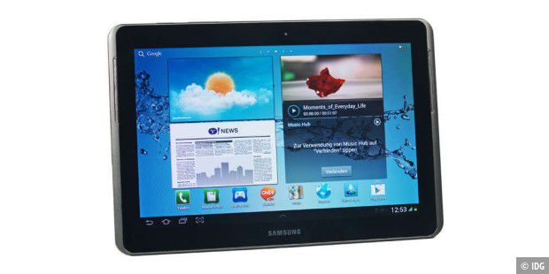 Android-Tablet im Test: Samsung Galaxy Tab 2 10.1 mit Ice Cream Sandwich
