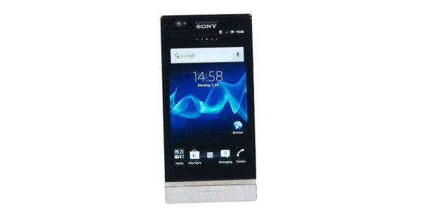 "Sony Xperia P mit ""White Magic"" im Test"