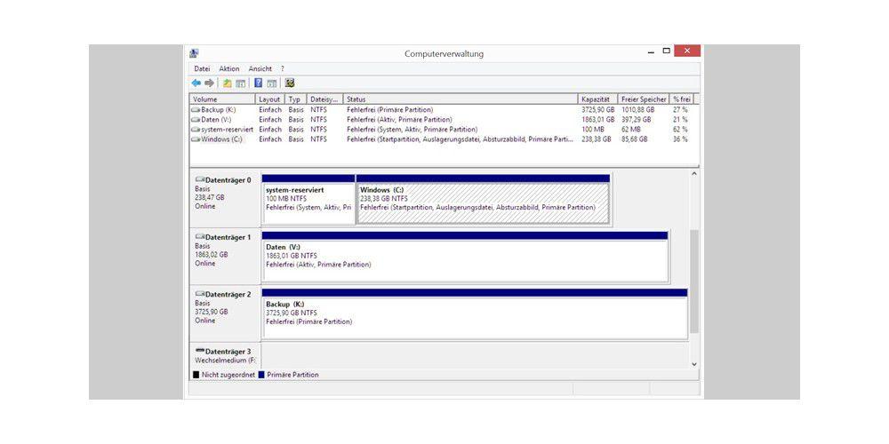Festplatte und SSD korrekt einrichten - PC-WELT
