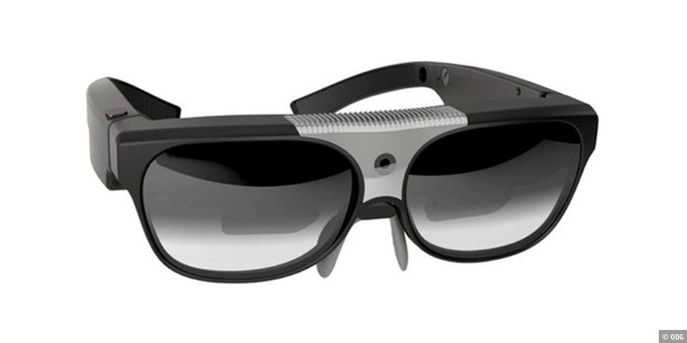 neue augmented reality brille von odg pc welt. Black Bedroom Furniture Sets. Home Design Ideas