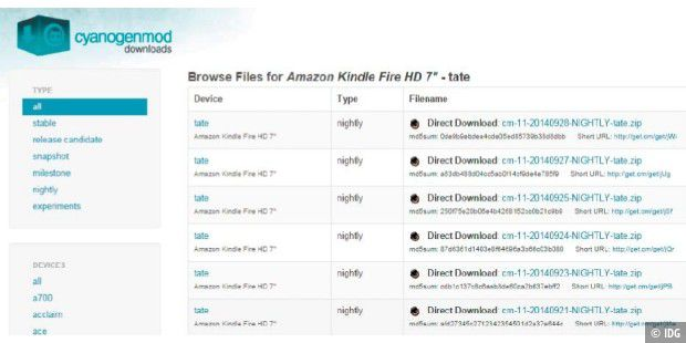 Kindle Fire D01400 Recovery Mode