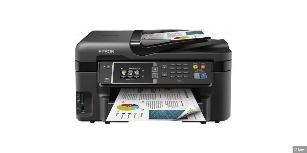 Epson Workforce WF-3620DWF im Test