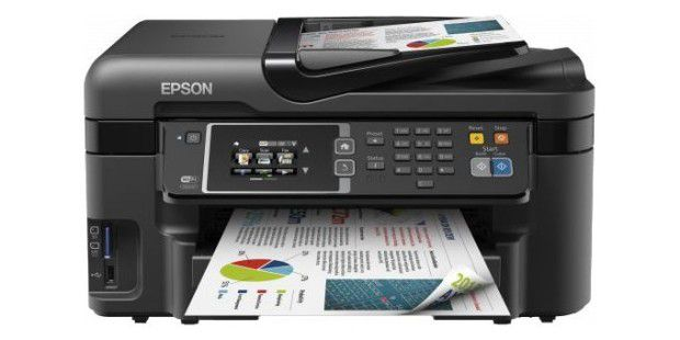 Im Test: Multifunktionsgerät Epson Workforce WF-3620DWF