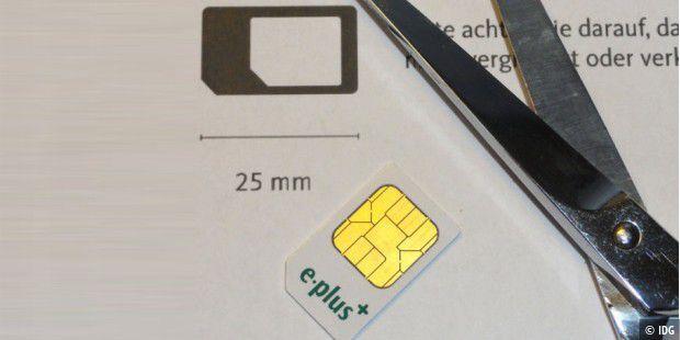 Nano Karte Zuschneiden.Sim Karte Im Smartphone Auf Das Richtige Format Zuschneiden Pc Welt