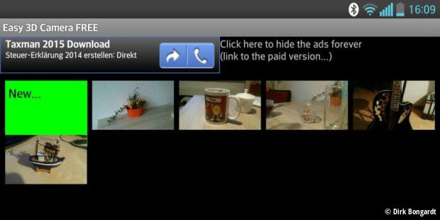 Easy 3D Camera FREE (Ads)