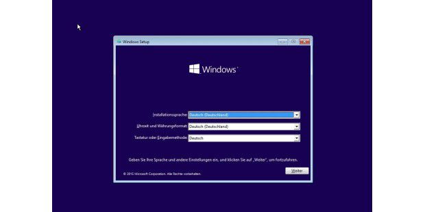Windows 10 Technical Preview Build 9926 - deutsch