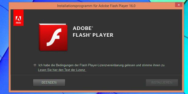 Neuer Flash Player 16.0.0.296: Hier ist der Download