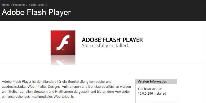 Neueste Version Adobe Flash Player : adobe flash player ist unsicher abschalten pc welt ~ A.2002-acura-tl-radio.info Haus und Dekorationen