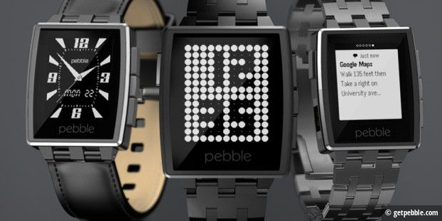 Pebble will 2015 neue Smartwatches vorstellen