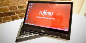 Das Fujitsu Lifebook T935 im Hands On