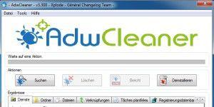 Reinigungs-Tool: AdwCleaner