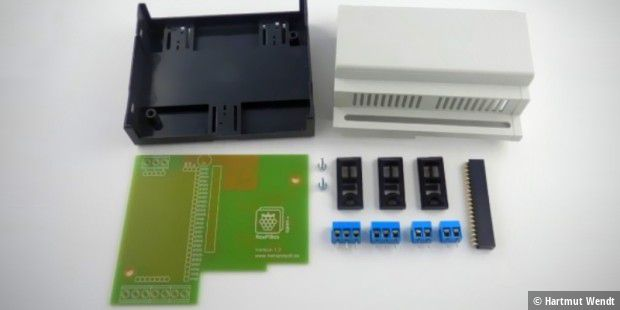 RasPi-Box Open Plus, Bausatz Standard