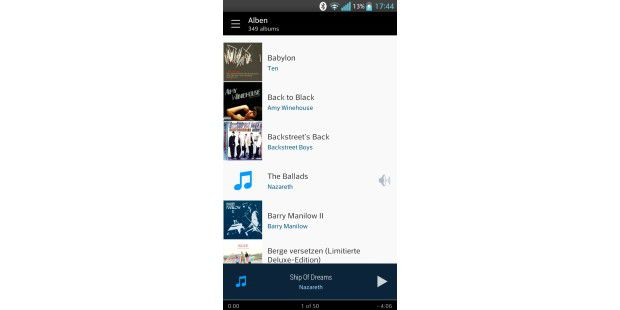 Cloudskipper Music Player