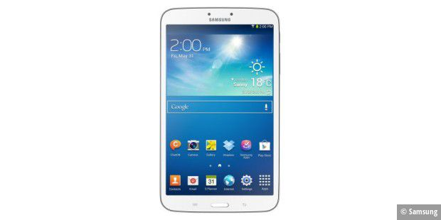 8-Zoll-Androide im Test: Samsung Galaxy Tab 3 8.0