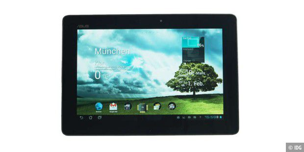 Das Android-4-Tablet kommt mit Top-Hardware.