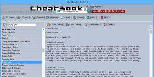 Gaming Tipps und Tricks: CheatBook