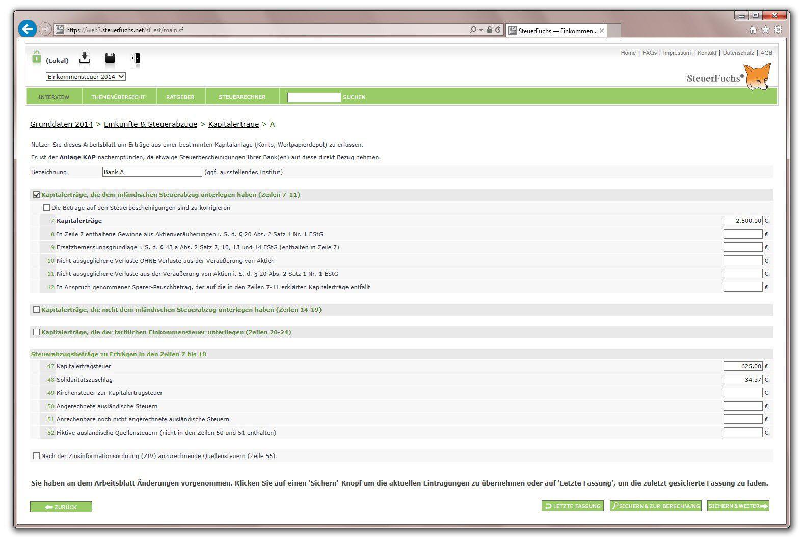 Smartsteuer Musterbriefe : Steuer die online programme pc welt