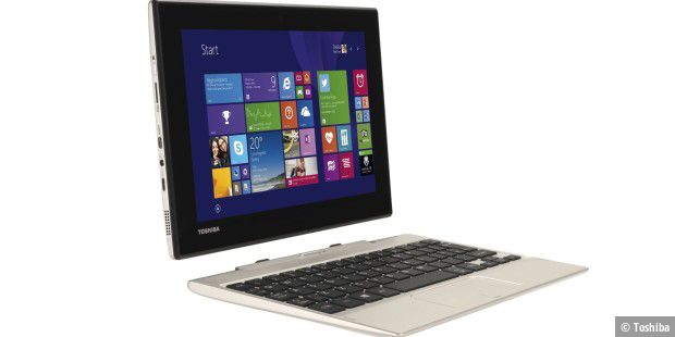 Günstige Tablet-Netbook-Kombination: Toshiba Satellite Click Mini
