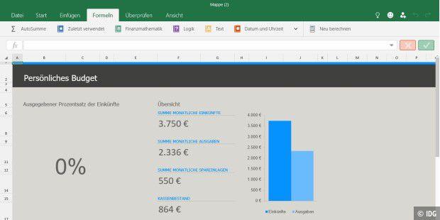 Windows 10: Excel für Windows 10 Preview - PC-WELT