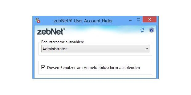 User Account Hider - kostenloser Download