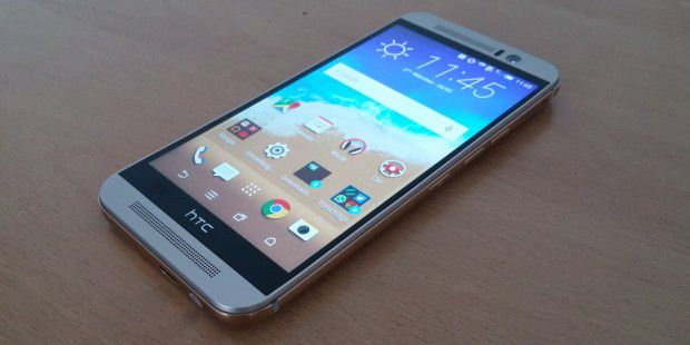 HTC One M9: Display