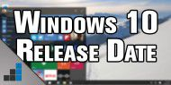 Video: Windows 10 Release Date bekannt