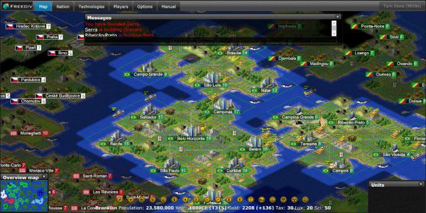 Open-Source-Strategie: Freeciv