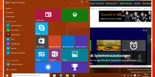 Windows 10 Build 10041 steht zum Download bereit