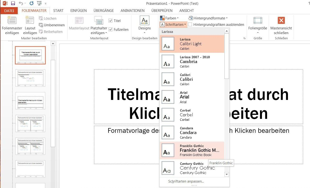 Powerpoint 2013 Schriftart Vollständig Austauschen Pc Welt