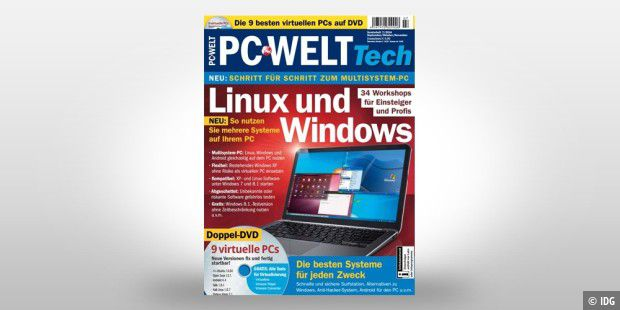 PC-WELT Tech - Linux und Windows