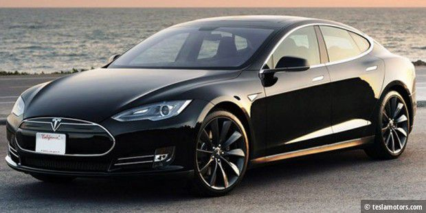 Teslas Model S bekommt ein Software-Update