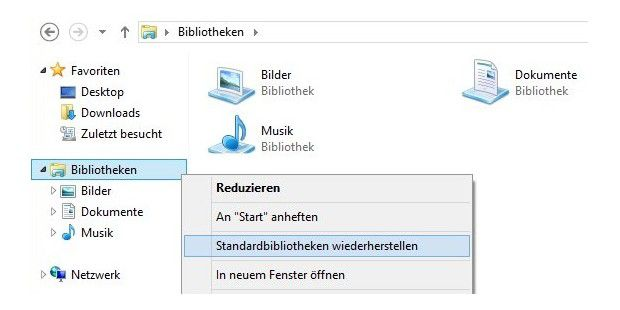 Defekte Windows-Bibliotheken reparieren